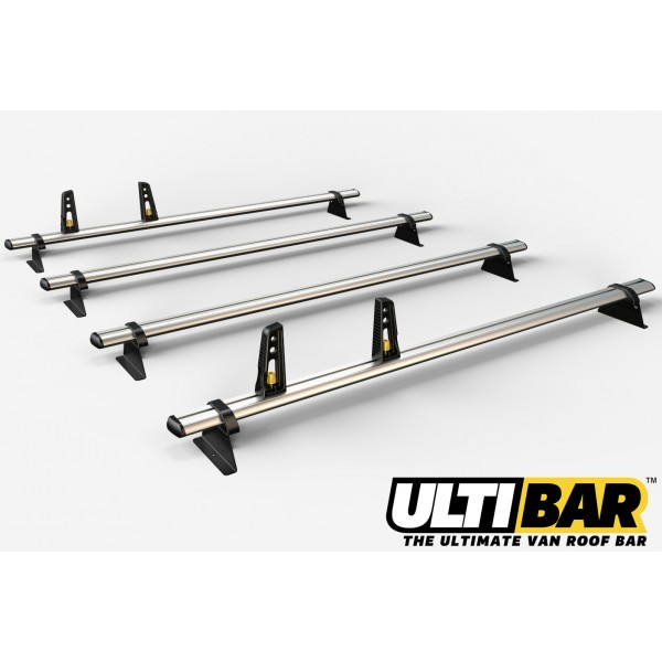 4x HD ULTI Bars incl. wind deflector