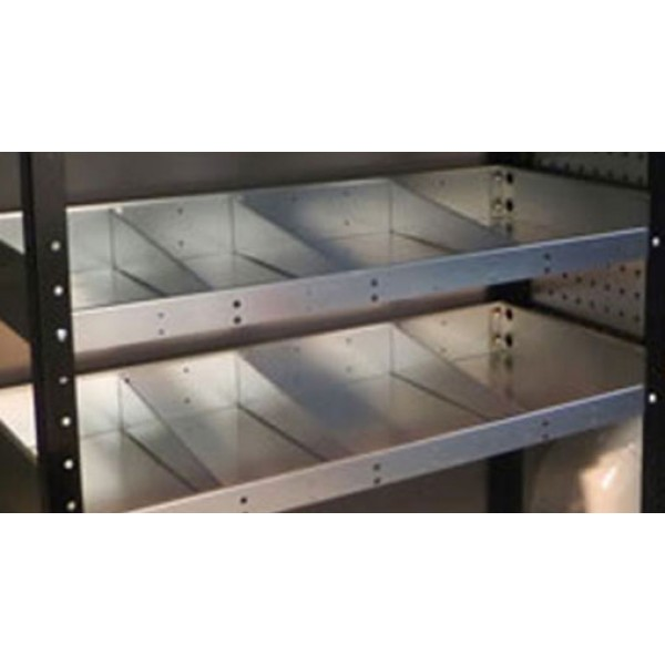 Low front shelf divider kit (3 Pack) for 435mm shelves